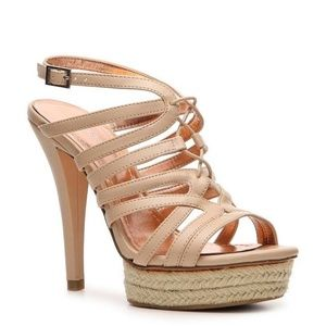 BCBGeneration Espadrille Wedge Orla Heels Sandals